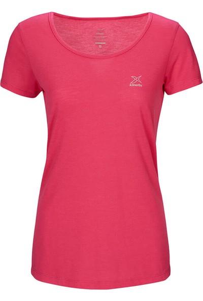 Kinetix Basic T-Shirt Fuşya Kadın T-Shirt