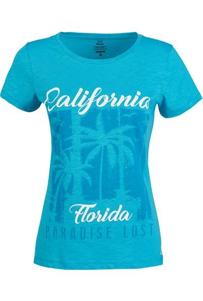 Kinetix Jane T-Shirt Açık Mavi Kadın T-Shirt