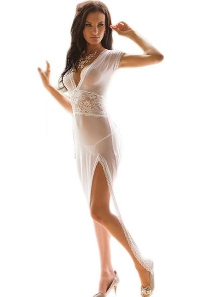 VB Butik Kadın Babydol Transparan Gecelik Fantazi İç Giyim