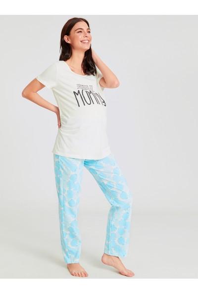 Lc Waikiki Hamile Kadın Pijama Takım