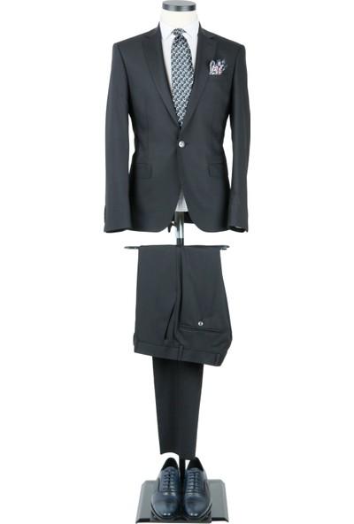 Centone Takım Elbise Düz Renk Comfort Fit 6 Drop 15-370