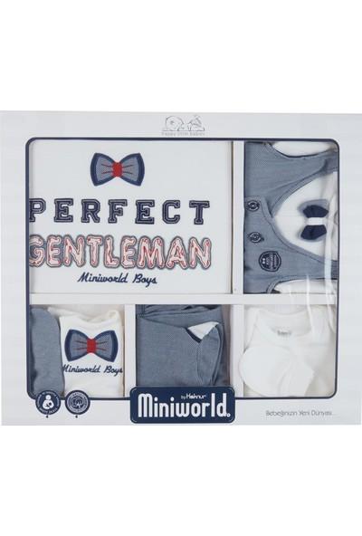 Miniworld Erkek Bebek Hastane Çıkışı 10'lu Zıbın Seti 13578
