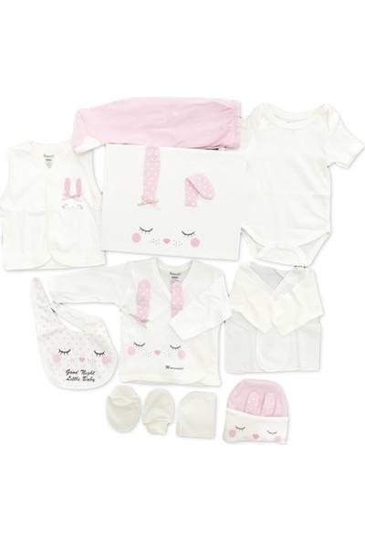 Miniworld Kız Bebek Hastane Çıkışı 10'lu Zıbın Seti 14228
