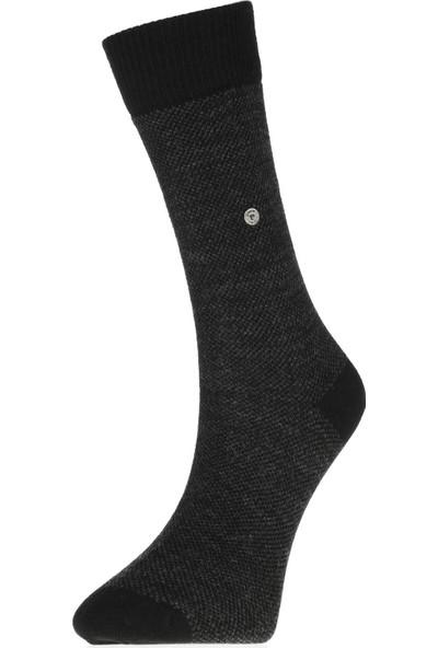 Pierre Cardin Kışlık Termal Yünlü Erkek Çorap 12'li Paket Siyah 504