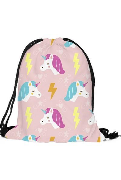 GOB2C Unicorn Detaylı Çanta