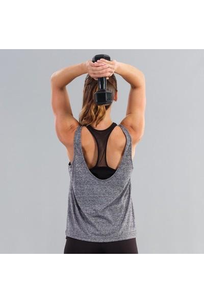 Ral Sport 31255 Kadın İkili Atlet Gri-Siyah