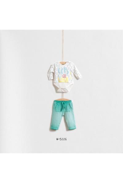 Wogi Baby Lets Go Wild 2'Li Body Set Wg-5226