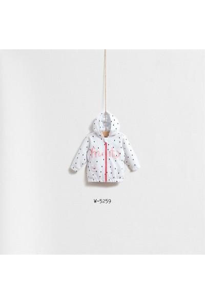 Wogi Baby Fruit Girl Hırka Kız Bebek Giyim Wg-5259