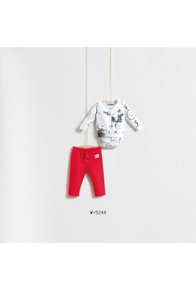 Wogi Baby Berry Yelekli 3'Lü Set Wg-5244