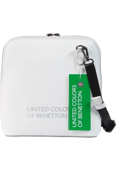 Benetton Kadın Çapraz Çanta Beyaz BNT65