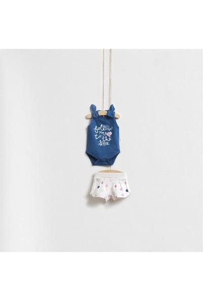 Wogi Baby Omuz Detaylı Alt Üst Takım 5287