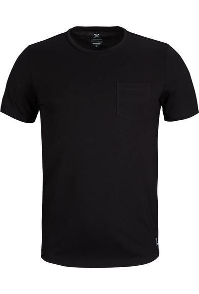 Kinetix Robb 3 T-Shirt Siyah Erkek T-Shirt
