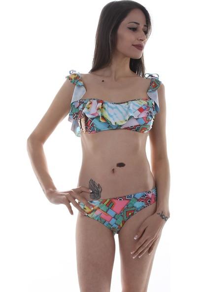 Aquella Fırfırlı Bikini