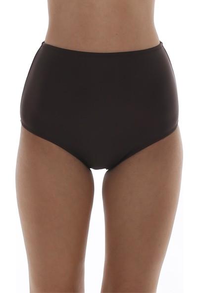 Mctrend Kadın Retro Tek Alt Bikini