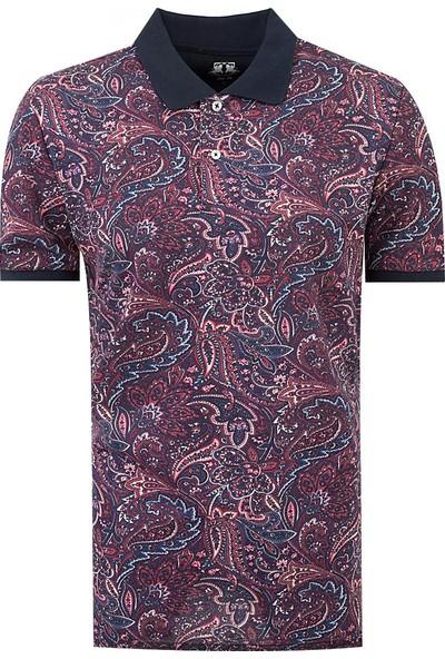 D's Damat Slim Fit Karma Renk T-Shirt