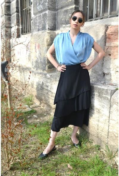 Her Mod'a Bir Moda Volanlı Etek