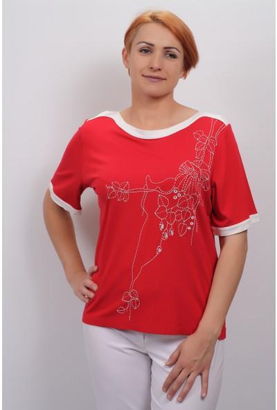 Sude Kadın Kagi Penye Bluz 2109