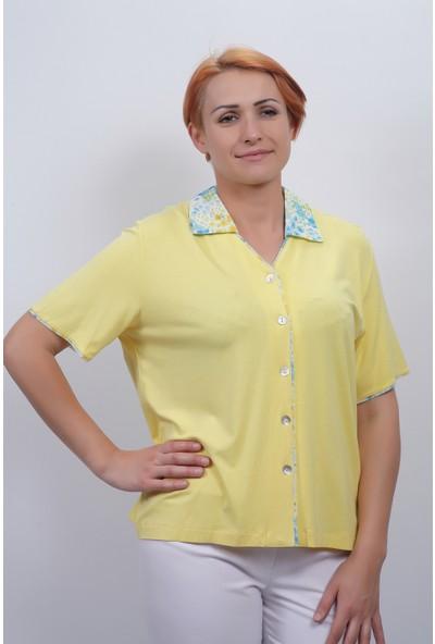 Sude Kadın Kagi Penye Bluz 2147