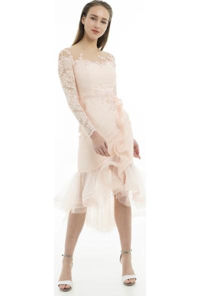 Saygın Kadın Abiye Elbise 050268