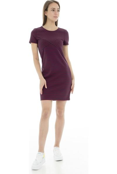 Vero Moda Vmvigga Slim Short Dress Color Elbise Kadın Elbise 10212965