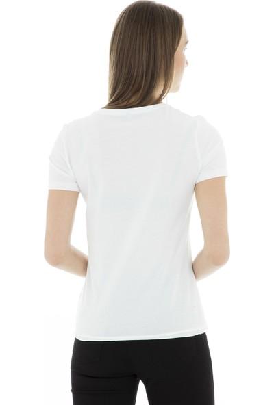 Only Onlindre Reg Ss Print Box Co Jrs T Shirt Kadın T Shirt 15179331