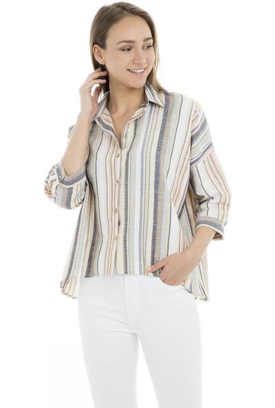 Quzu Gömlek Kadın Gömlek 23410865