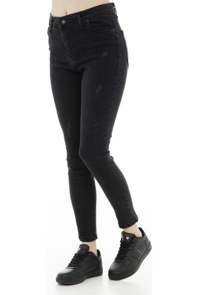 Ambar Jeans Kadın Kot Pantolon 19Yp5491057