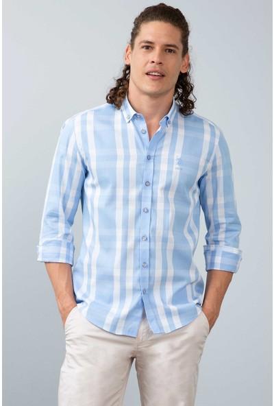 U.S. Polo Assn. Erkek Dokuma Gömlek 50200040-Vr036