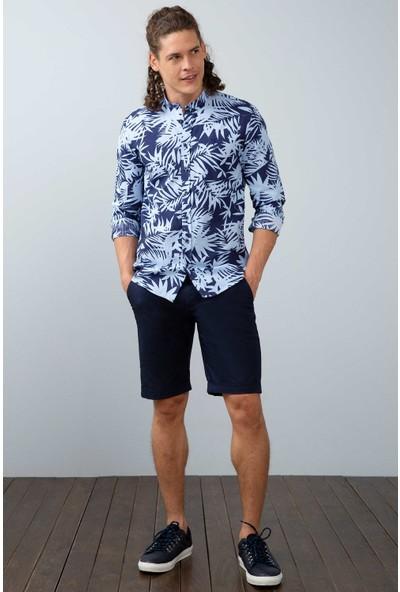 U.S. Polo Assn. Erkek Dokuma Gömlek 50202705-Vr033