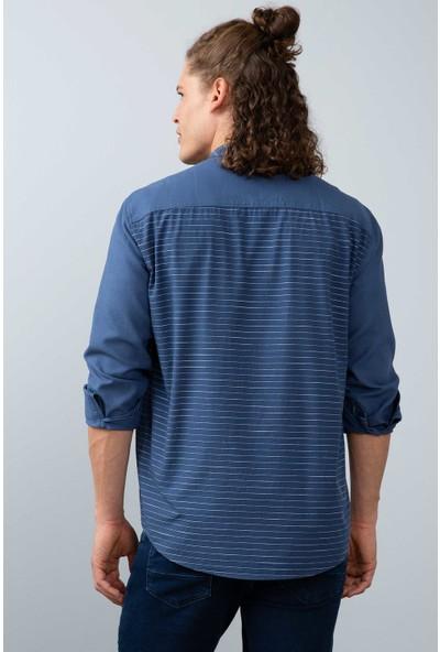 U.S. Polo Assn. Erkek Dokuma Gömlek 50200430-Vr028