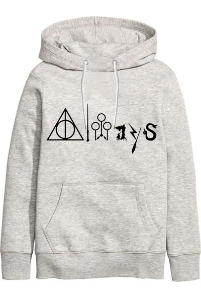 Art T-Shirt Harry Potter Always Unisex Kapüşonlu Sweatshirt