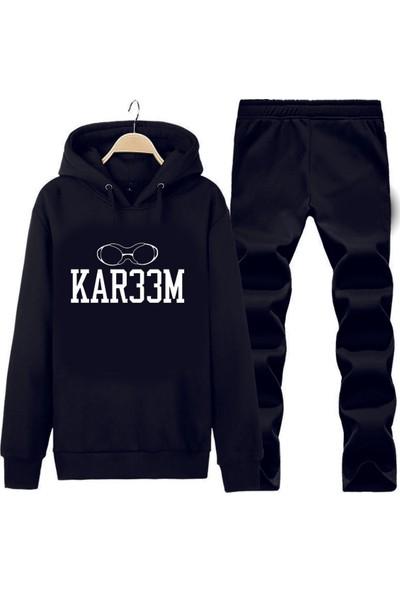 Art T-Shirt Kareem Abdul Jabbar Kapüşonlu Eşofman Takımı