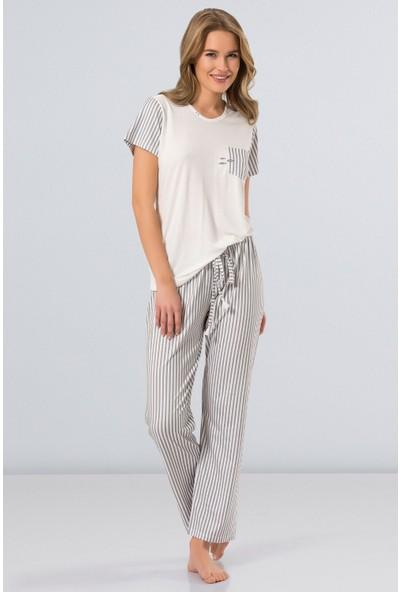 ec4583291ac1d Gri Kadın Pijamalar Modelleri ve Fiyatları & Satın Al - Sayfa 3