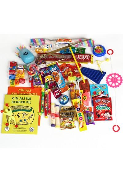 Chavin Büyük Paket Nostalji Lezzet Şeker Oyuncak Kutusu Yap97