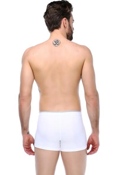 Guda Erkek Soft Boxer 20000 Beyaz