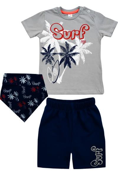 By Leyal For Kids Surf Detayli 3Lü Takim-904-E0160