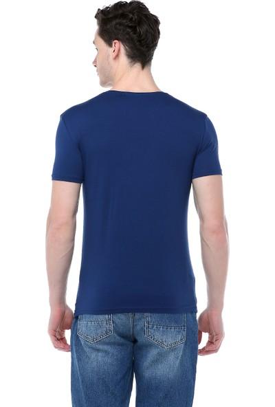 Markalook Erkek Licra Basic T-Shirt