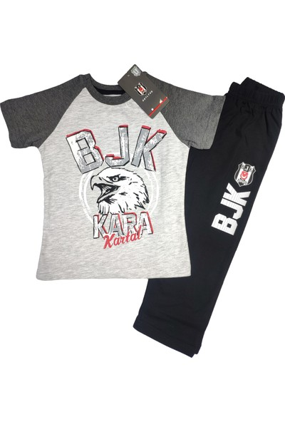 Kartal Yuvası Erkek Çocuk Beşiktaş T-Shirt Takım