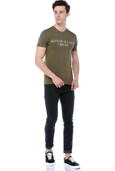 Markalook Erkek Baskılı T-Shirt