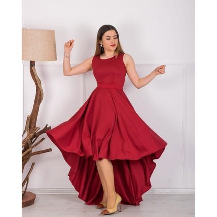 a69f86b7bc015 Barevsu Scuba Kumaş Uzun Kadın Abiye Elbise 05 Fiyatı