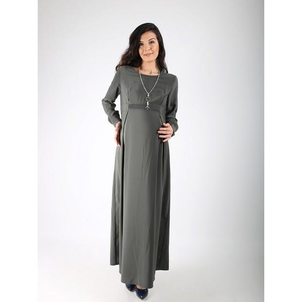 a5c8f83d68c29 Işşıl Hamile Kolyeli Örgü Krep Elbise - 40 - Bordo Fiyatları ...