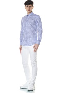 Giovane Gentile Men's Patterned Shirt