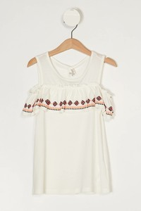DeFacto Kids' Blouse with Frilly Details