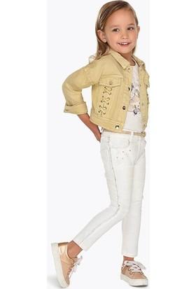 Mayoral Yazlık Kız Çocuk Gabardin Pantolon 3502