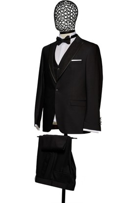 Giovane Gentile Erkek Smokin Takım Elbise Siyah