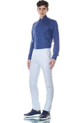 Giovane Gentile Erkek Pantolon Açık Mavi