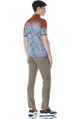 Giovane Gentile Erkek T-Shirt Açık Portakal
