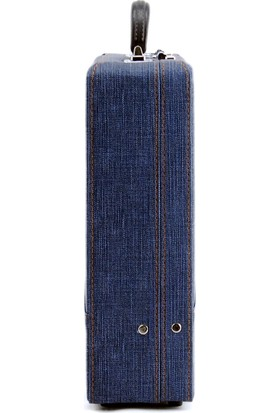 Güneş Mavi Bond Çanta