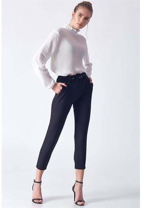 Robin D83022 Kadın 9Y Klasik Pantolon Siyah