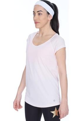 Sportive 710185-Nde Spo-Miknewarena Kadin T-Shirt Pudra